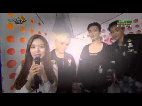 150515 BIG BANG (빅뱅) Backstage Interview @ Music Bank