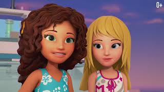 Подружки потерялись в море - видео для детей - LEG...