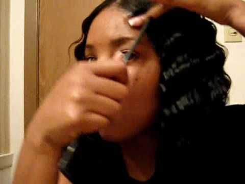 Crimping The Hair Day - YouTube