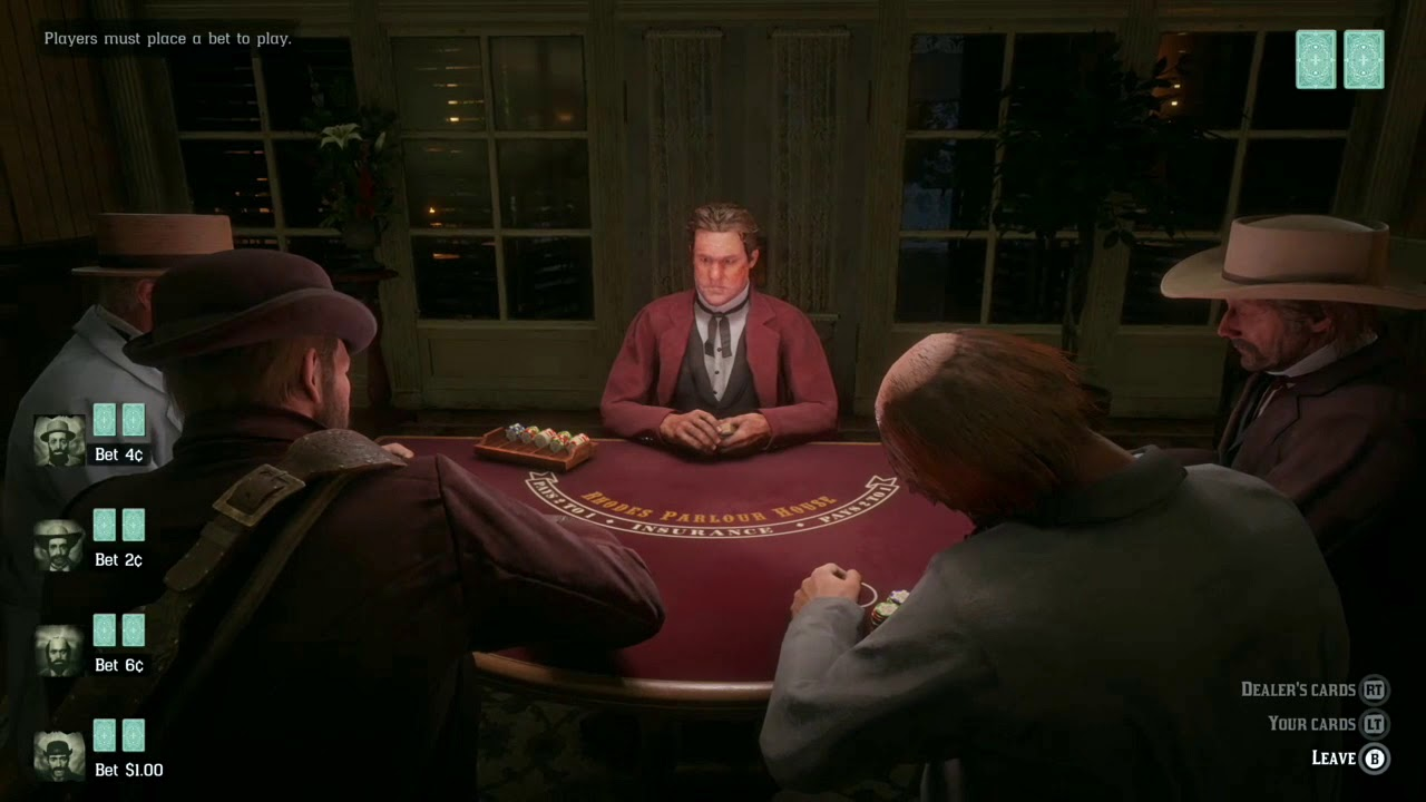 Rdr2 Blackjack