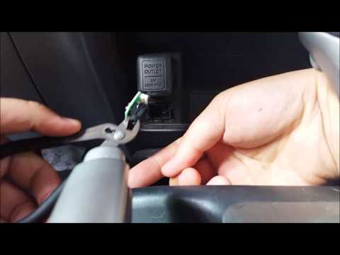 2006 - 2011 Honda Civic AUX port fix