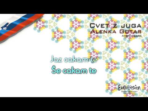 "Alenka Gotar - ""Cvet Z Juga"" (Slovenia)"