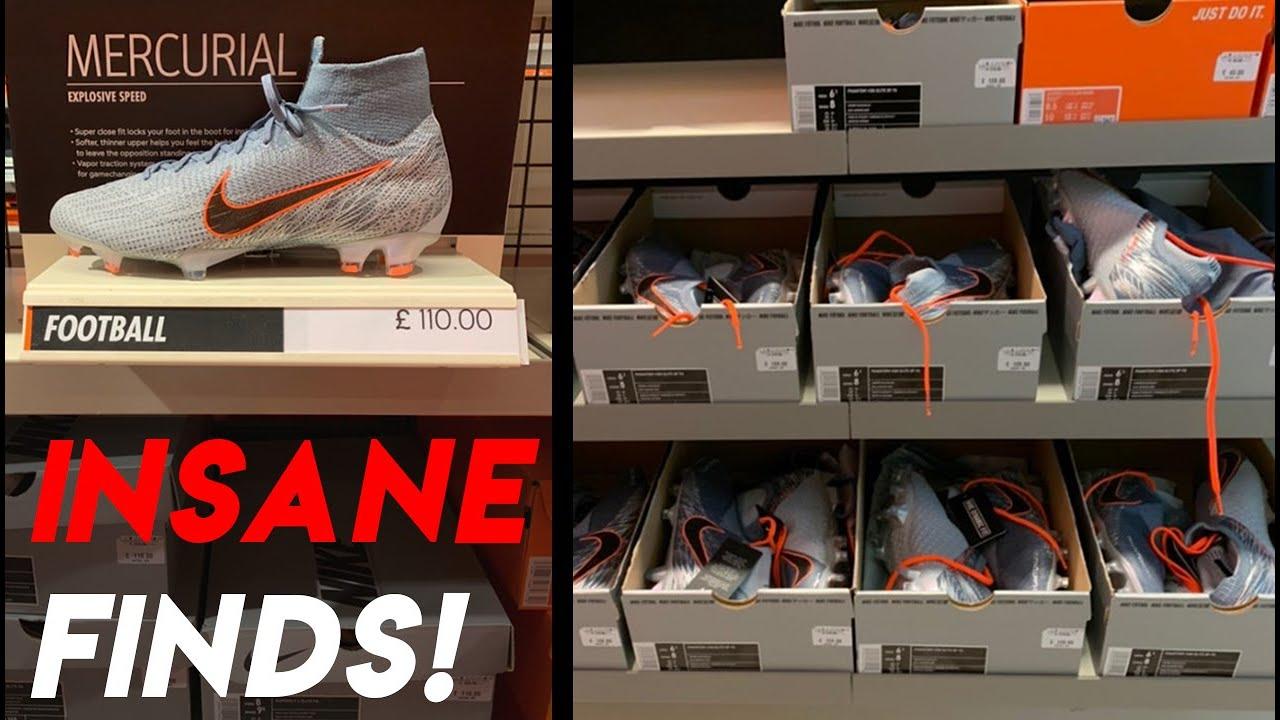 trapo Constitución Fundación  Nike Outlet SOCCER DEALS | Shopping for Cleats (Football boots) - YouTube