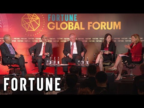 Fortune Global Forum Panelists Talk Chinese and U.K. Business Relationship  I Fortune
