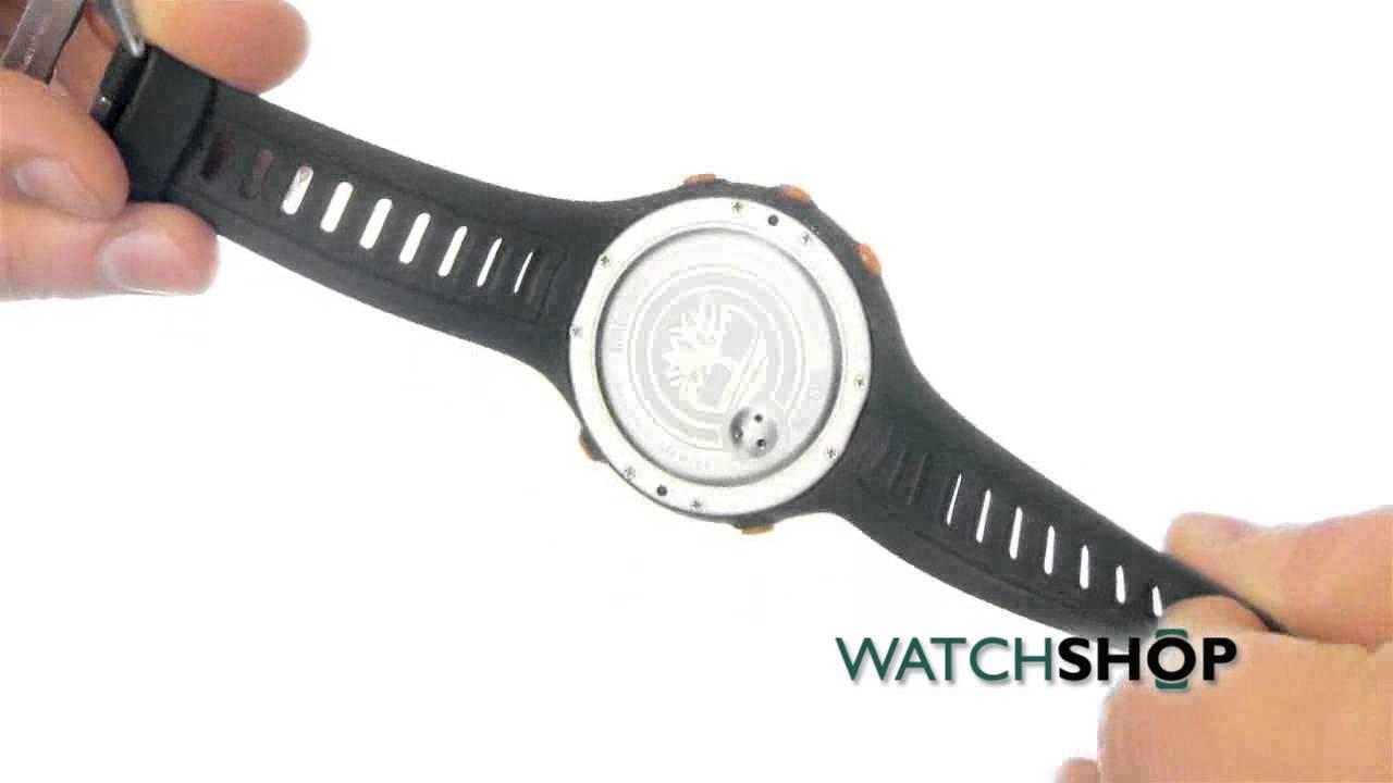 plato Abolladura nadie  Gents Timberland Washington Summit Alarm Chronograph Watch (13386JPGNS/01)  | WatchShop.com™