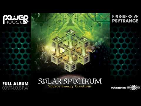 Solar Spectrum - Source Energy Creations (pwrcd012 / Power House Records) ::[Full Album / HD]::