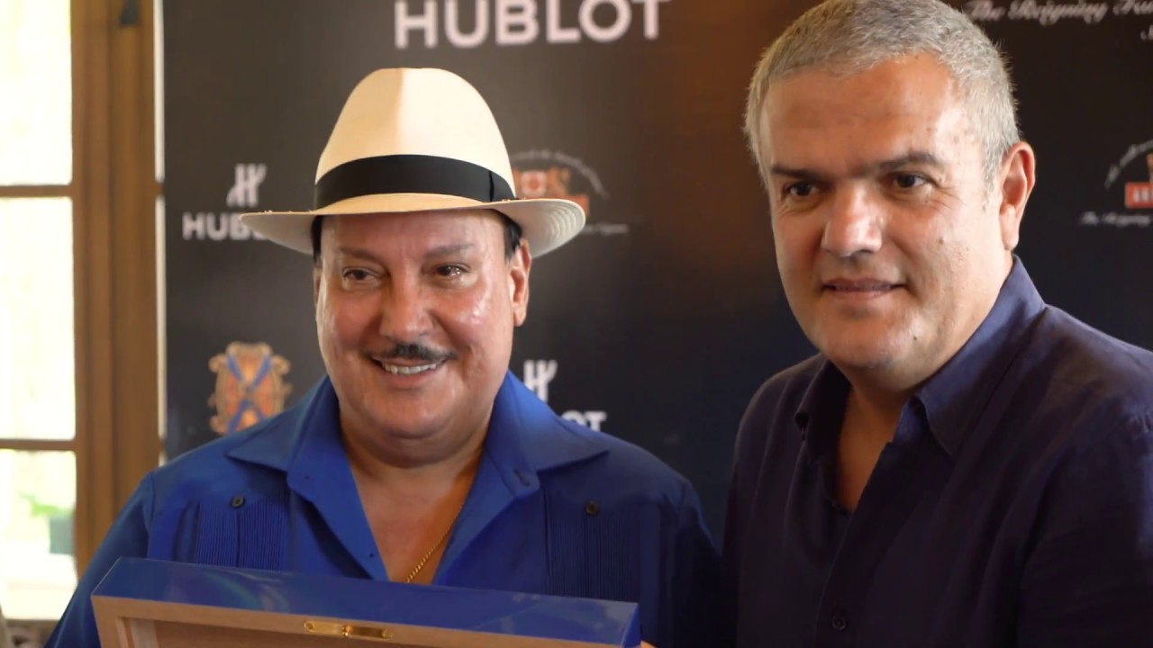 HUBLOT - UNVEILING OF THE FUENTE 20th ANNIVERSARY COLLECTION