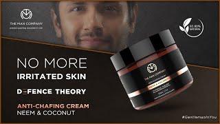 Skin Irritation & Itchy Skin Treatment, Anti-Chafing Cream | The Man Company
