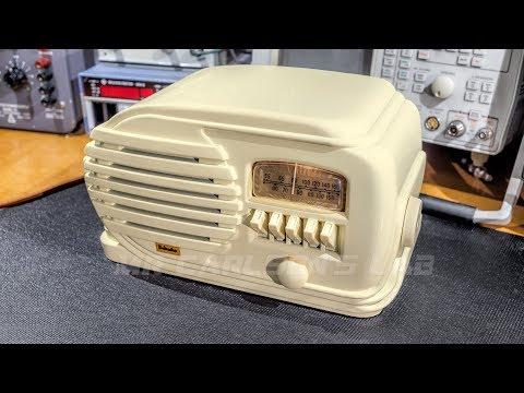 Electronic Restoration- 1947 Belmont Radio Receiver 5D128