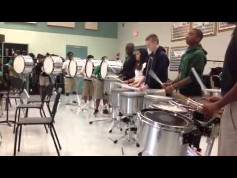 Rusheon Middle School Drumline - 4 Crashes