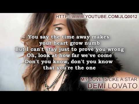 Demi Lovato - My Love Is Like A Star Instrumental + Free mp3 download!!!