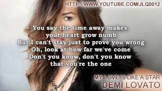Demi Lovato - My Love Is Like A Star Instrumental + Free mp3 download!!!