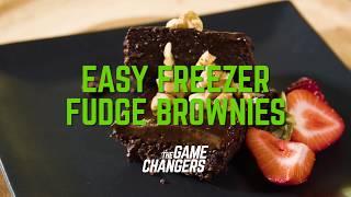Easy Freezer Fudge Brownies  The Game Changers