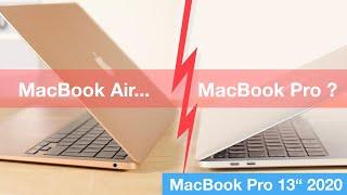 MacBook Air ou MacBook Pro (2020) ? Budget ~1500€