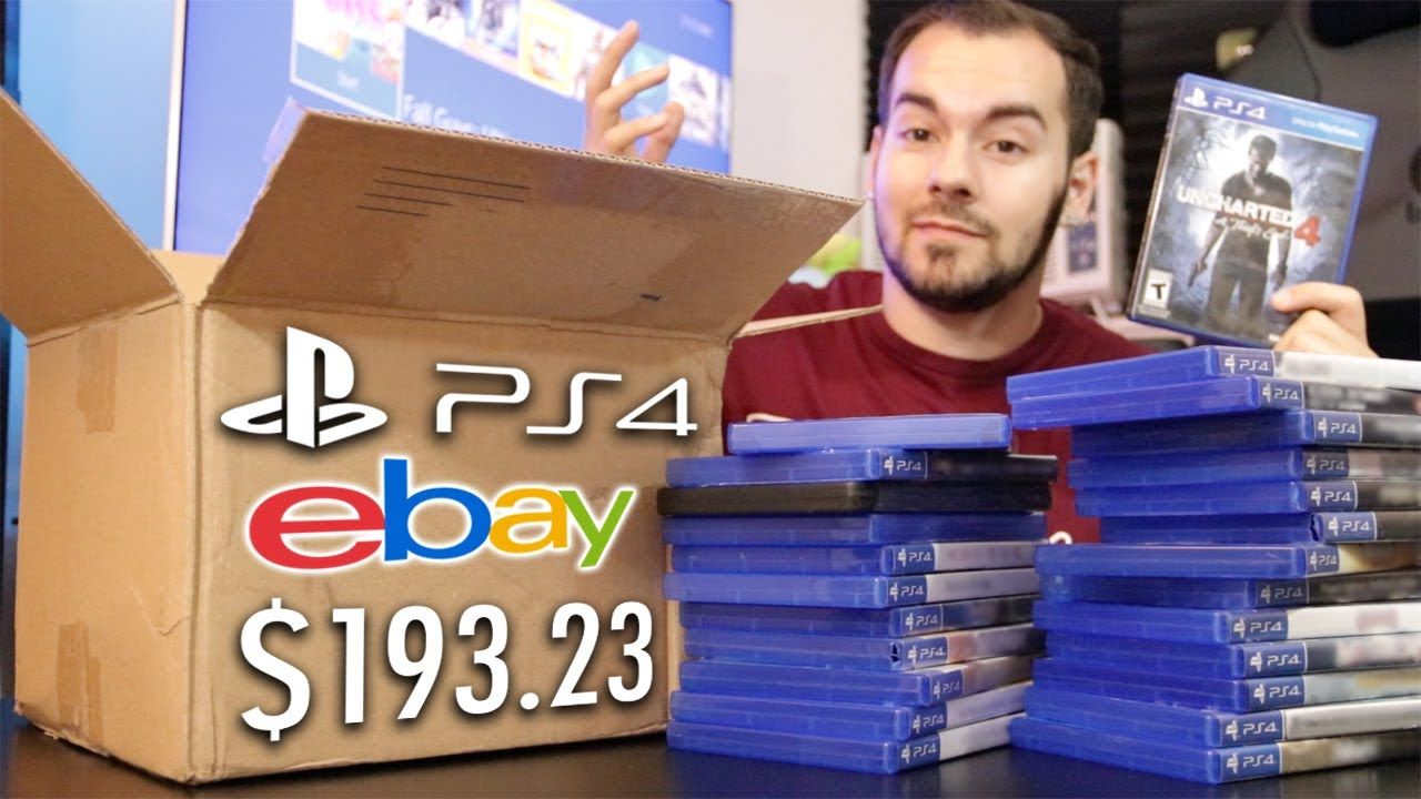 Buying Random PS4 Games From eBay: Was It Worth It?