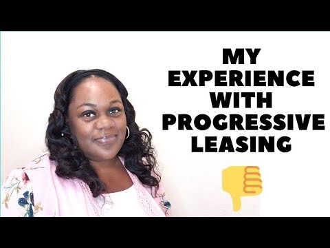 My Experience with Progressive Leasing