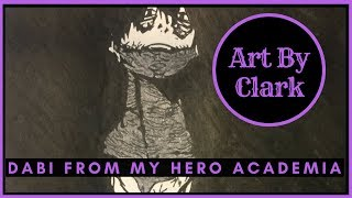 Dabi Fanart from My Hero Academia Anime | Speed Drawing | Time Lapse | Art by Clark