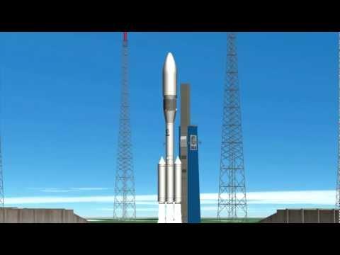 Ariane 6 animation from ESA Council Naples, 21 Nov 2012