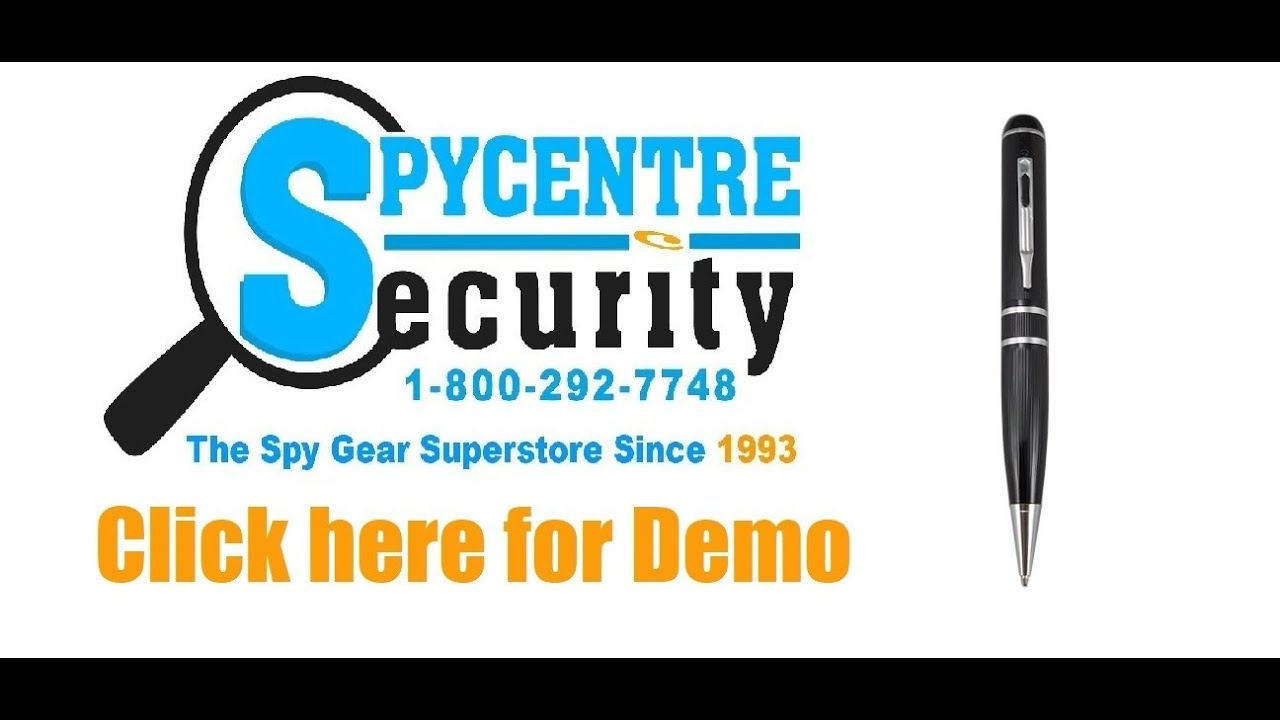 spy pen camera software download free
