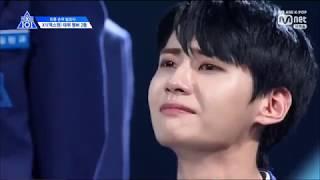 Produce X 101 Episode 12 - #2 TOP Media Kim Wooseok (2위 티오피미디어 김우석)
