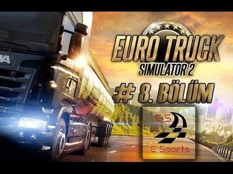 Euro Truck Simulator 2 - Multiplayer - Bölüm 8 - Special Transport -70 Ton- (Eskort Ekip Eşliğinde)