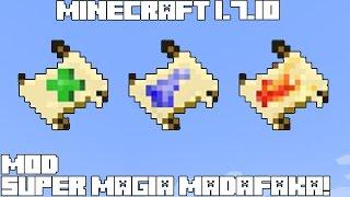 Minecraft 1.7.10 MOD SUPER MAGIA MADAFAKA! Spellbound Mod Review Español!