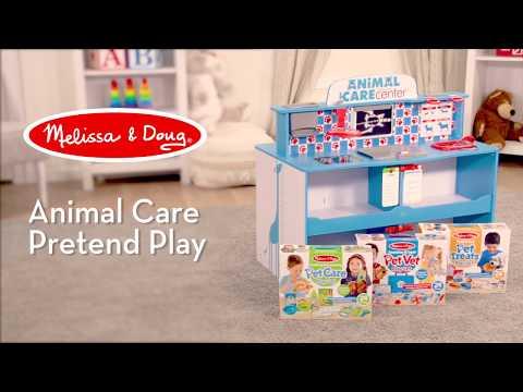 Melissa Doug Animal Care Activity Play Center Watch