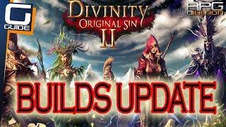 DIVINITY ORIGINAL SIN 2 - Builds Update (Battle Cleric, Assassin, Wizard)