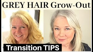 Growing Out Grey Hair (& Silver, White, Gray Natural Transitions)