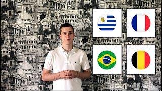 Уругвай - Франция Бразилия - Бельгия прогнозы на футбол | 1/4 финала чемпионата мира 2018