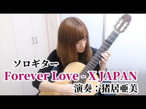 【ソロギター】Forever Love / X JAPAN 演奏:猪居亜美
