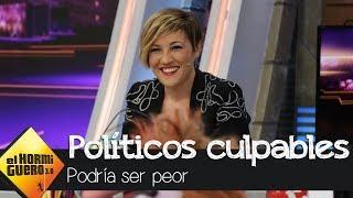 Cristina Pardo nos muestra la culpabilidad de los políticos españoles - El Hormiguero 3.0