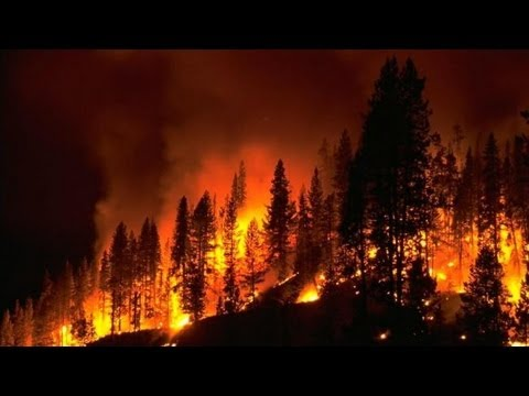 Breaking news (FİRE) Wildfires force evacuations in Idaho and Utah
