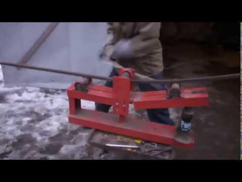 видео: гнем проф трубу для теплицы