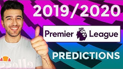 SHOCK IN RELEGATION AND EPIC TOP 6 RACE? - 2019/2020 PREMIER LEAGUE PREDICTIONS!