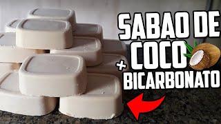 Sabão Caseiro de Coco e Bicarbonato Limpa Muito