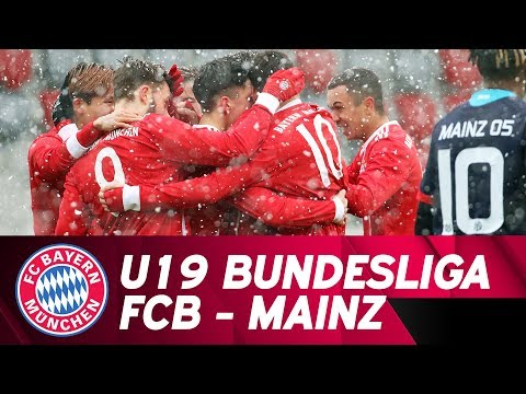 LIVE 🔴 | FC Bayern - 1. FSV Mainz 05 | Spitzenspiel der U19 Bundesliga
