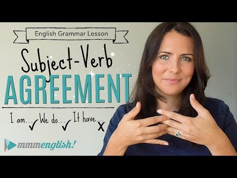 Subject Verb Agreement  |  English Grammar Lesson  |  Fix Common Mistakes