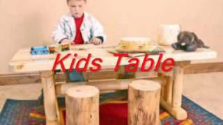 Wood Kids Furniture, Pine Kids Furniture, Rustic Kids Furniture, Cabin Kids Room