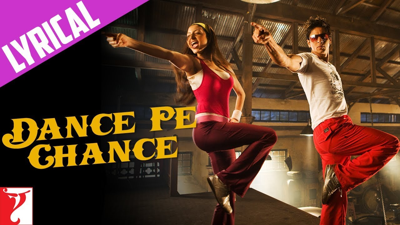 Lyrical: dance pe chance song with lyrics | rab ne bana di jodi.