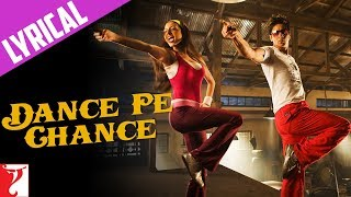 lyrical dance pe chance song with lyrics rab ne bana di jodi shah rukh khan jaideep sahni