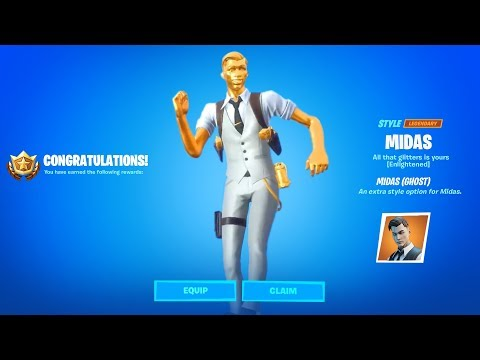 How To Unlock Shadow Or Ghost Midas Fortnite
