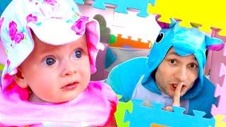 ¿Dónde te Escondiste Bebé? - Canciones Infantiles | Maya y Mary