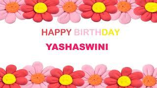 Yashaswini   Birthday Postcards & Postales - Happy Birthday