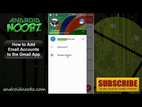 How to add new gmail to mail app
