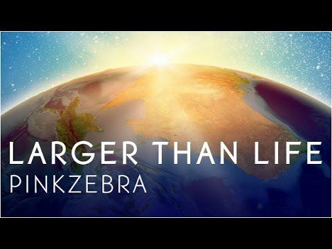 "Pinkzebra ""Larger Than Life"" feat. Benji Jackson - Upbeat Song for Videos"