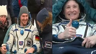 Soyuz MS-09 landing