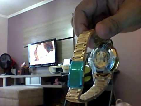 c0e27d47233 Relógio Pulso winner Movimento Mecânico Cor Dourado Promoção Barato ...