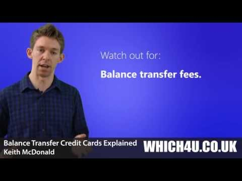 Balance Transfer Cards Explained