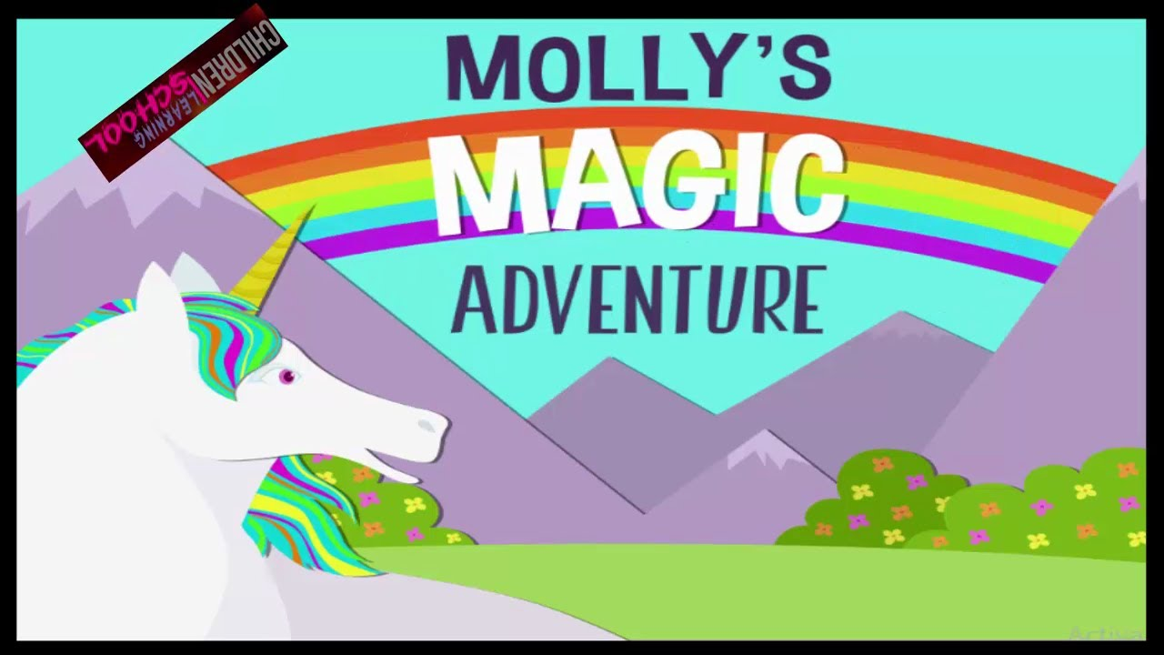 Mollys Magic Adventure Find the rainbow Kids Activities Kids learning  videos Youtube - YouTube